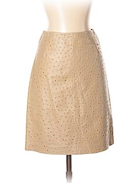 Dana Buchman Faux Leather Skirt Size 2