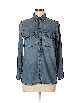 Current/Elliott Long Sleeve Button-Down Shirt Size XS (0)