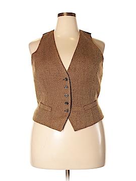 New York & Company Tuxedo Vest Size 18 (Plus)