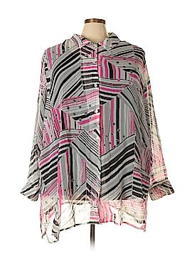 Maggie Barnes Long Sleeve Blouse Size 22 (5) (Plus)