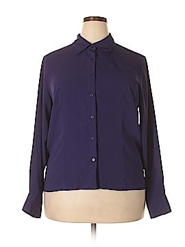 Preston & York Long Sleeve Blouse Size 18 (Plus)