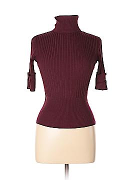 Bette Paige Short Sleeve Turtleneck Size L