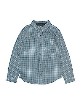 Tea Long Sleeve Button-Down Shirt Size 8