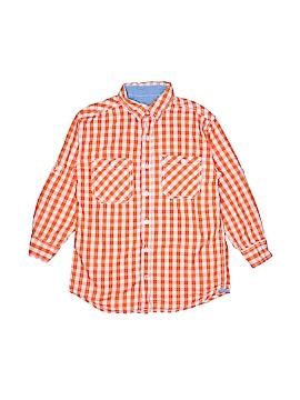 Weatherproof Long Sleeve Button-Down Shirt Size 8