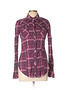 Roper Long Sleeve Button-Down Shirt Size M