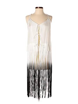 Raquel Allegra Sleeveless Silk Top Size Med (2)