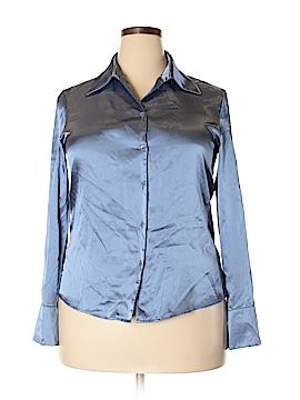 Kasper Long Sleeve Blouse Size 14