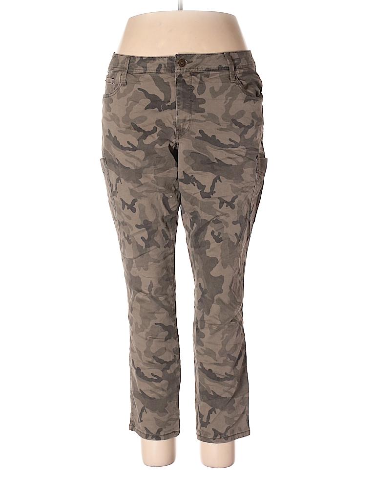 36c05978da Faded Glory Camo Dark Green Cargo Pants Size 18W (Plus) - 45% off ...