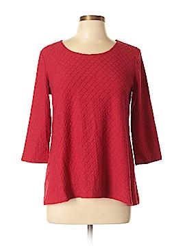 Kim Rogers 3/4 Sleeve Top Size M (Petite)
