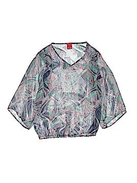 Ella Moss 3/4 Sleeve Blouse Size 14