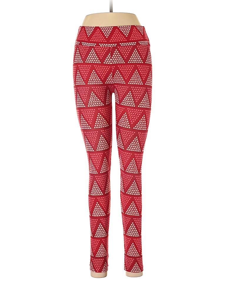 258d5efaae843b Lularoe Print Red Leggings One Size - 84% off | thredUP