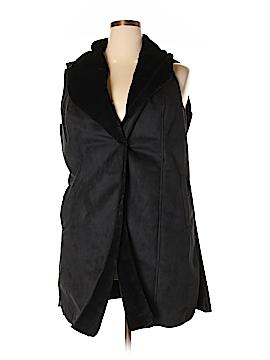 Dennis by Dennis Basso Faux Fur Vest Size 1X (Plus)