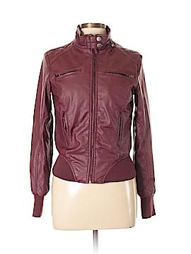 Miss Posh Faux Leather Jacket Size L