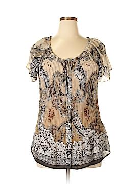 Avenue Short Sleeve Blouse Size 14 - 16 Plus (Plus)
