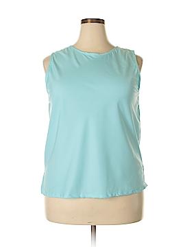 Anthony Original Sleeveless Blouse Size 1X (Plus)