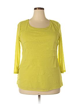 Alfani 3/4 Sleeve Blouse Size 2X (Plus)