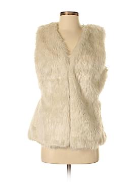 Old Navy Faux Fur Vest Size P