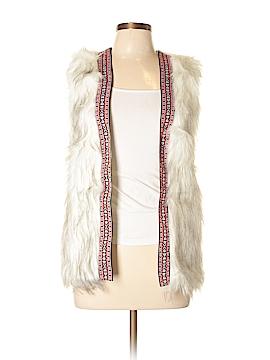 Xhilaration Faux Fur Vest Size Sm/Petite