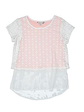 Speechless Short Sleeve Blouse Size X-Large (Kids)