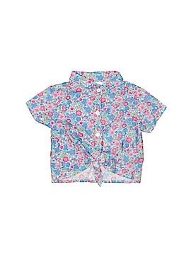 Carter's Short Sleeve Button-Down Shirt Size 9 mo