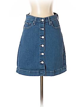 Gap Denim Skirt 26 Waist
