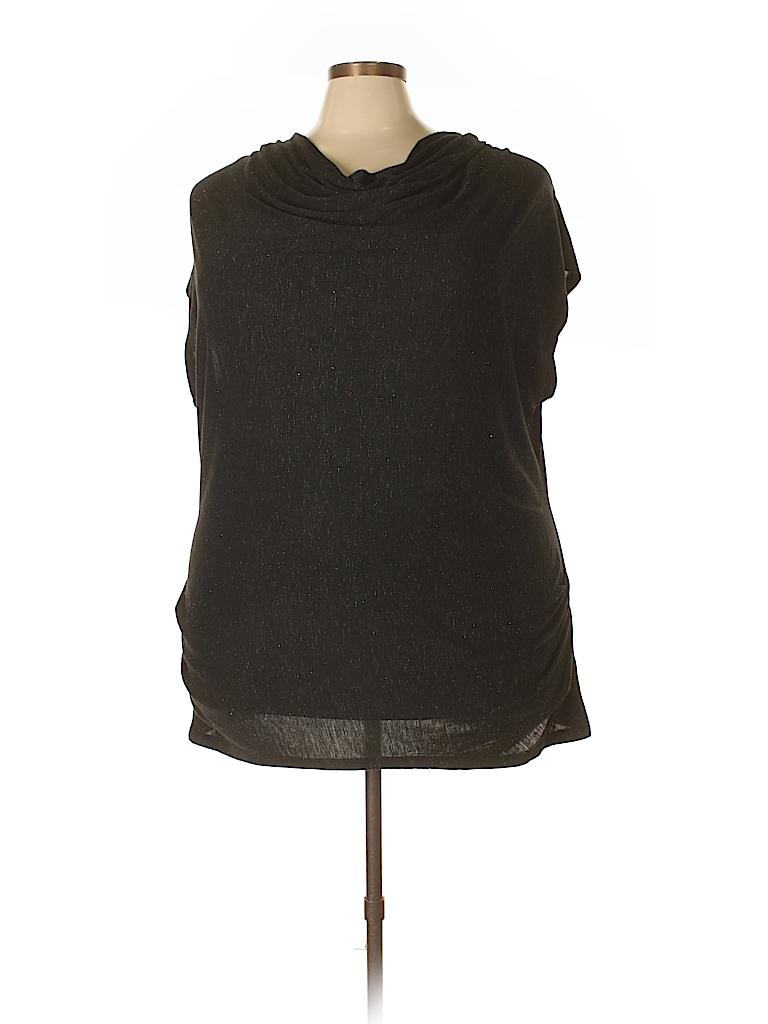 6f6a0008e9a84 Lane Bryant Solid Black Cocktail Dress Size 22 - 24 Plus (Plus) - 91 ...