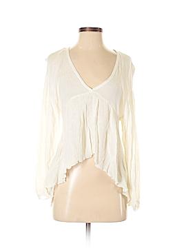Zara W&B Collection Long Sleeve Blouse Size L
