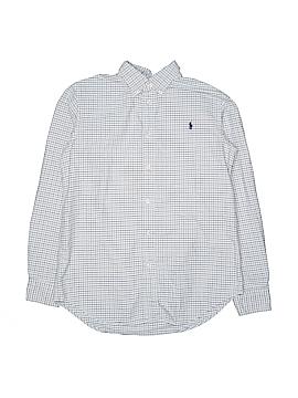 Ralph Lauren Long Sleeve Button-Down Shirt Size 18