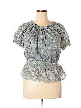 Chaps Short Sleeve Blouse Size XL
