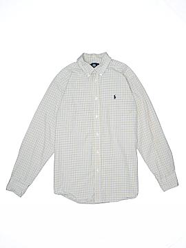 Ralph Lauren Long Sleeve Button-Down Shirt Size 16 - 18