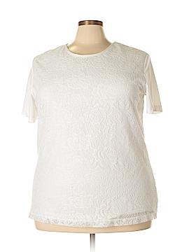 Sara Morgan for Haband Short Sleeve Top Size 3X (Plus)