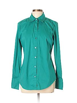Calvin Klein Long Sleeve Button-Down Shirt Size L