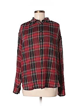 Madewell Long Sleeve Button-Down Shirt Size M