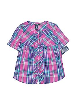Chaps Short Sleeve Blouse Size 5