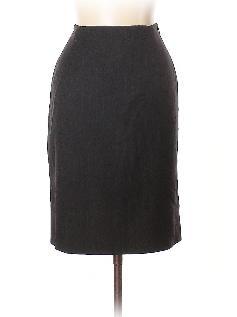 Brooks Brothers Women Wool Skirt Size 10