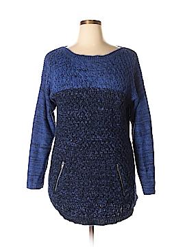 Great Northwest Indigo Pullover Sweater Size 1X (Plus)