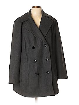 London Fog Wool Coat Size 1X (Plus)