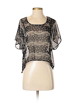 WallpapHER Short Sleeve Blouse Size S