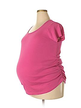 Mom & Co. - Maternity Short Sleeve T-Shirt Size 2X (Maternity)