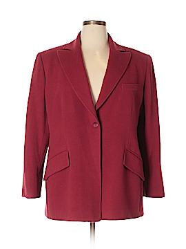 Anne Klein II Wool Blazer Size 16W