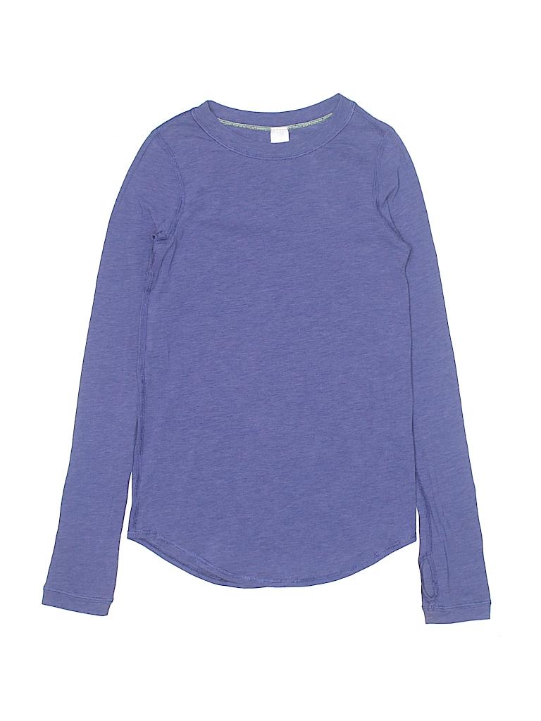 501e2c3f8 Ivivva Solid Purple Long Sleeve T-Shirt Size 6 - 67% off | thredUP