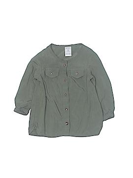Carter's 3/4 Sleeve Button-Down Shirt Size 9 mo