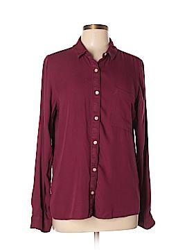 SO Long Sleeve Button-Down Shirt Size XL