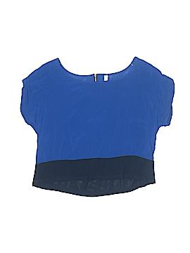 Xhilaration Short Sleeve Blouse Size S (Kids)