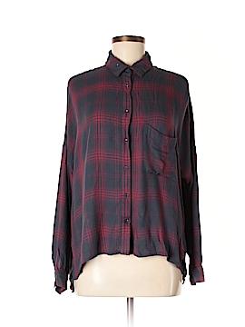 Gentle Fawn Long Sleeve Button-Down Shirt Size M