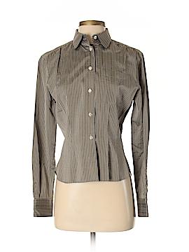 Barbara Bui Long Sleeve Button-Down Shirt Size S