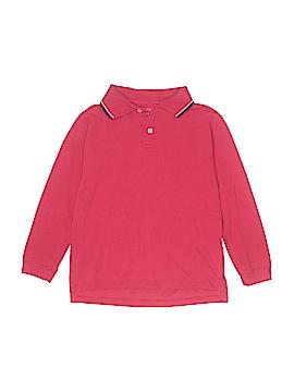 Faded Glory Long Sleeve Polo Size S (Kids)