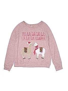 Wall Flower Sweatshirt Size S (Youth)