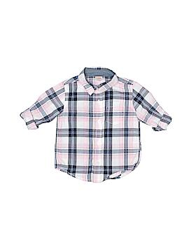 Gymboree 3/4 Sleeve Button-Down Shirt Size 18-24 mo
