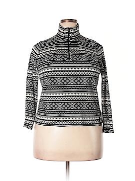 L-RL Lauren Active Ralph Lauren Long Sleeve Top Size 1X (Plus)